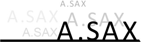 A;sax